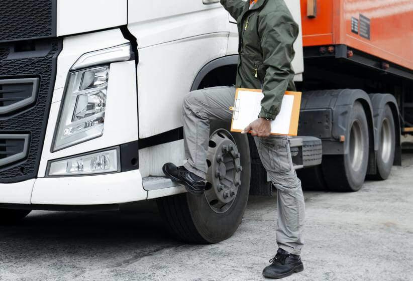 Identifizierung schlechter LKW Fahrer - Leichte Identifizierung schlechter LKW-Fahrer